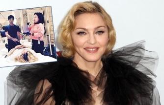 Madonna'ya kanlı canlı tedavi!