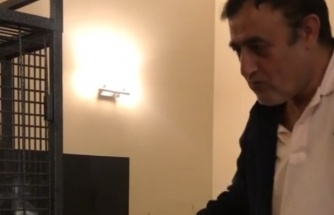 Mahmut Tuncer papağanı ile halay çekti