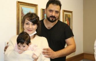 Makatı tıkalı doğan bebeği tek ameliyatla tedavi etti