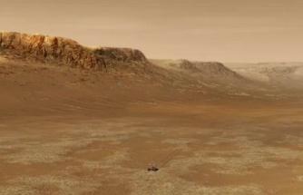 Mars'ta yaşayan