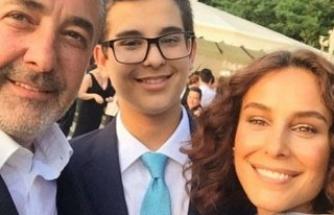 Mehmet Aslantuğ oğlunu tıraş etti
