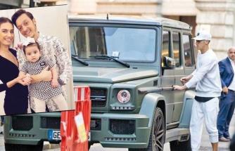 Mesut Özil ve Amine Gülşe'nin eşyaları İstanbul'a geldi