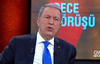 Milli Savunma Bakanı Hulusi Akar: 'Mehmetçiğin Can Güvenliği Sorunu Yok'