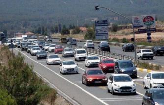 Muğla'da araç sayısı nüfustan fazla artıyor