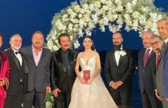 Orhan Gencebay'ın oğlunun düğününe siyasi isimler akın etti
