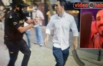 Palalı saldırgan Ebru Polat'la Dubai'de!