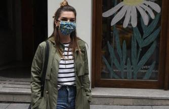 """Pelin Karahan, """"Maskeleri annem dikiyor"""""""