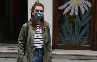 """Pelin Karahan: """"Maskelerimi annem dikiyor"""""""