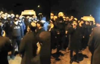 Polisle Müritler Arasında Gerginlik: Kocaeli'de Tarikat Liderinin Mezarı, Dernek Bahçesine Gömülmüş