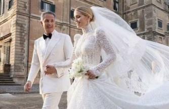 Prenses Diana'nın yeğeni Lady Kitty Spencer, milyarder Michael Lewis ile evlendi