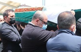 Rafet El Roman'ın babası son yolculuğuna uğurlandı