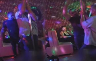 Ruhsat Değiştirerek Faaliyete Devam Eden Pavyonların Birinde Direk Dansı Yaparak Eğlenen Dayı