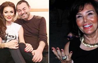 Serdar Ortaç'ın annesi Caroline Yılmaz'a bayıldı