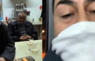Serdar Ortaç, taksi durağına gitti
