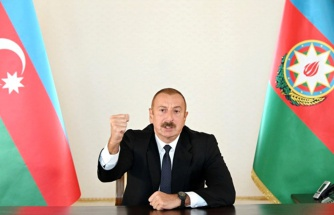 Son Dakika! Aliyev, Ermenistan'ın saldırı sonrası kameralar karşısına geçti: Şehitlerimizin kanı yerde kalmayacak