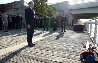Son dakika! Fransa tarihinde bir ilk: Cumhurbaşkanı Macron yüzlerce Cezayirlinin öldürüldüğü katliamın 60. yıldönümünü törenine katıldı