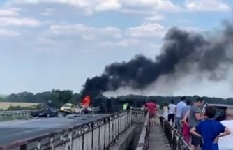 Son dakika haber | Bulgaristan'da tır 5 aracı biçti: 6 ölü, 5 yaralı