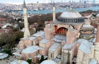 Son dakika: Rusya'dan Ayasofya yorumu: Türkiye'nin iç meselesidir