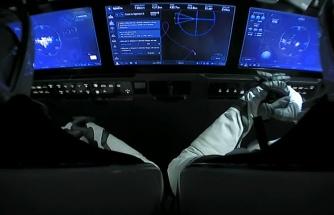 SpaceX'in Crew Dragon Kapsülü Uluslararası Uzay İstasyonu'na Kenetlendi
