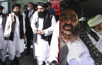 Taliban heyeti resmi temas için Ankara'ya indi! İşte ilk görüntüler