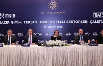 Ticaret Bakanı Ruhsar Pekcan: 'Hazır giyim ve tekstil sektöründe istihdamın 1 milyon kişiyi aştı'