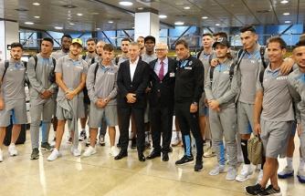 Trabzonspor, İspanya'nın Madrid kentine geldi