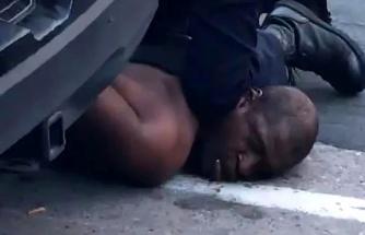 Tüm dünyayı ayağa kaldıran George Floyd cinayetinde yeni görüntüler ortaya çıktı; Floyd'un polislere söyledikleri vicdanları sızlattı
