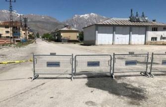 Tunceli'de 700 nüfuslu mahalle karantinaya alındı