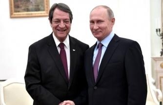 Türkiye karşısında çaresiz kalan Rum lider, Doğu Akdeniz konusunda Putin'den yardım istedi