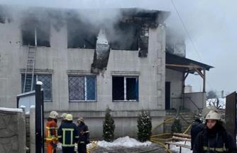 Ukrayna'da huzur evinde yangın: 15 ölü, 9 yaralı