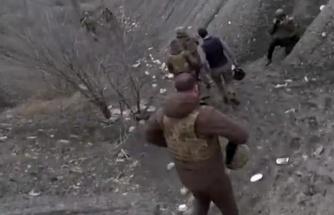 Ukrayna Devlet Başkanı Zelenski cepheye gitti, zikzak çizerek kaçtı