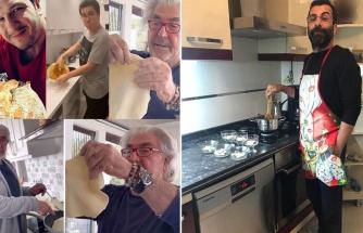 Ünlü beyler mutfakta harikalar yaratıyor