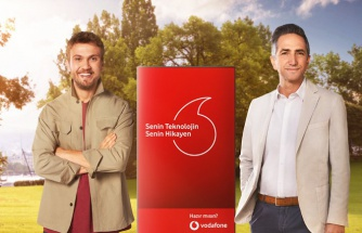 Vodafone'un reklam yüzü belli oldu!