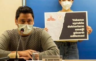 Yabancı uyruklu hekimler: Covid olduğumuzda bizden ücret talep ediliyor