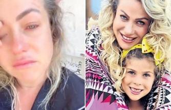 Yeliz Yeşilmen'in kızı kaynar suyla yandı
