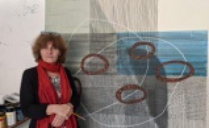 Koronavirüs mücadelesi Kıbrıs'a özgü figür ve motiflerle resmedildi