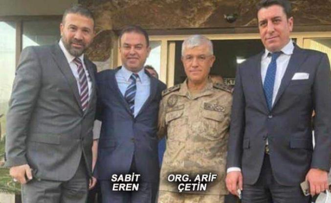 Manipülasyondan hapis cezası alan Sabit Eren'e, Komutan ziyareti!