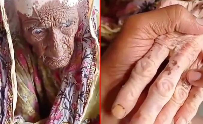 300 yaşında olduğu iddia edilen Pakistanlı kadının videosu sosyal medyayı ikiye böldü