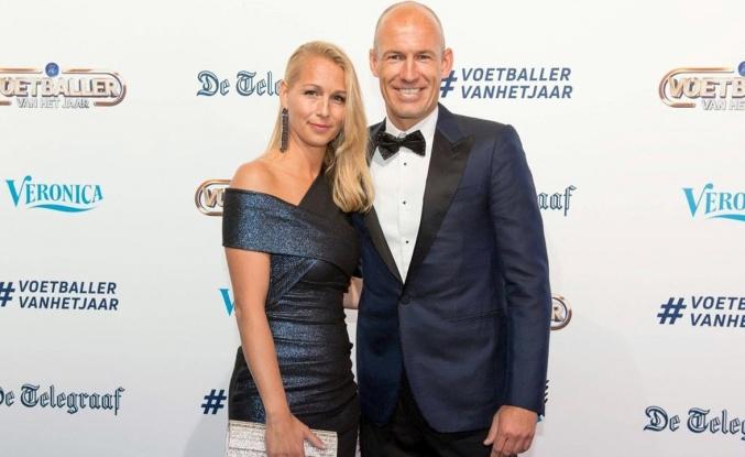 Arjen Robben'in eşi Corona virüsü yendi