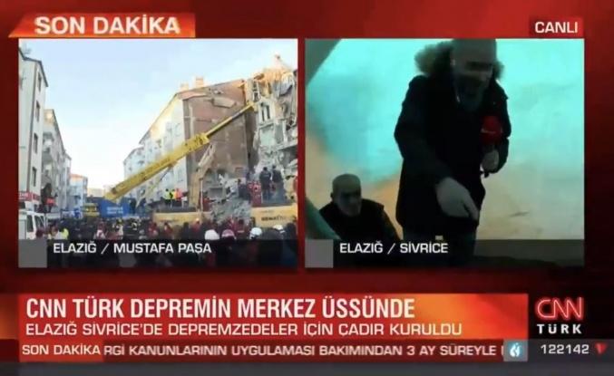 CNN Türk'ün Çadırlarda Yaptığı Haber Tepki Çekti: 'Bulunduğunuz Manzaradan Mutlu musunuz?'
