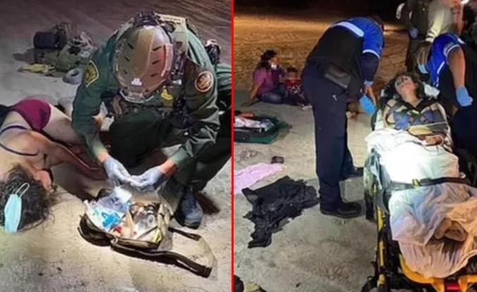 Dünya bu görüntüleri konuşuyor ABD'ye geçmeye çalışan Meksikalı mülteciler arı sürüsünün saldırısına maruz kaldı