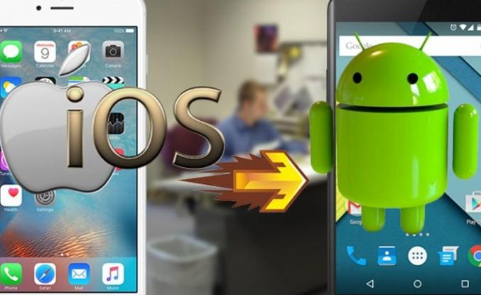 iPhone'dan Android'e kolay geçiş