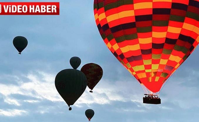 Kapadokya'nın ocak ayında balonla keşfi