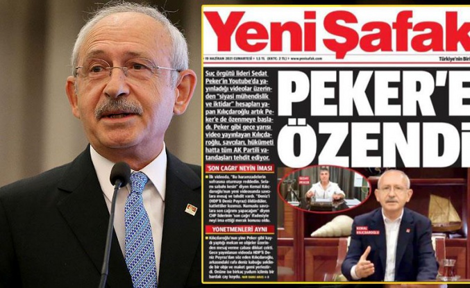 Kılıçdaroğlu, Yeni Şafak'ın Manşetini Ti'ye Aldı: 'Bakın Bu da Başka Bir Troll Zekası Ürünü'