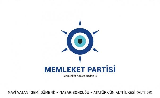 Memleket Partisi'nin Logosu Paylaşıldı