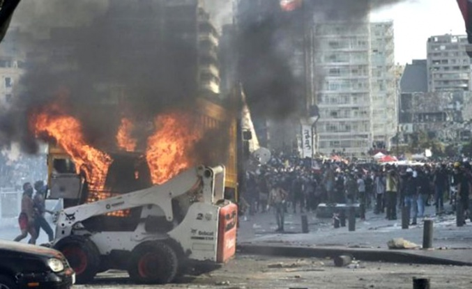Patlamanın ardından Lübnan'da sular durulmuyor! Çevre Bakanı Damianos Kattar istifa etti