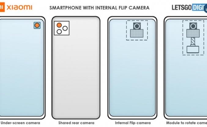 Xiaomi'den ekran altına yeni kamera