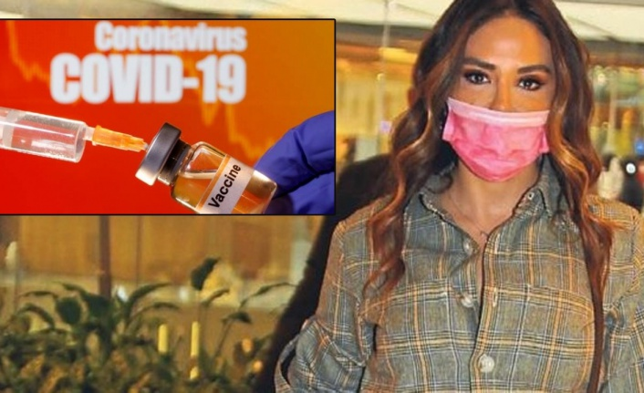 Esra Balamir dört gözle aşıyı bekliyor